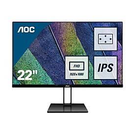 """Image of AOC 22V2Q - LED-Monitor - Full HD (1080p) - 54.6 cm (21.5"""")"""