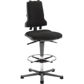 Arbeits-Stuhl COUNTER Sintec mit Gleitern
