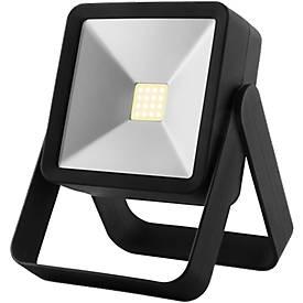 Arbeitsleuchte Metmaxx® TheFlutlichtCOB, COB Strahler, Aufstellbügel, Magnethalterung, Tampondruck 50 x 10 mm