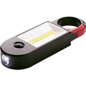 Arbeitsleuchte, mit hellen LEDs, Magnet und Haken, L 150 x B 50 x H 24 mm