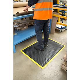 Arbeitsplatzmatte Bubblemat Safety, Endmatte und Mittelmatte mit Modulfunktion