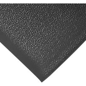 Arbeitsplatzmatte Orthomat® Anti-Fatigue, schwarz, lfm. x B 900 mm