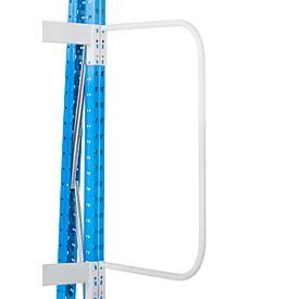 Arceau vertical de séparation pour rayonnages