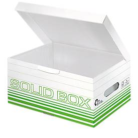 Image of Archivbox Leitz Solid Box S 6117, 10 Stück, grün