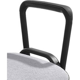 Armleuning voor stapelstoel ISO, 2 stuks