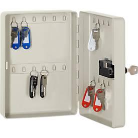 Armoire à clés Keybox, en tôle d'acier, avec serrure à combinaison électronique, de 24 à 60 clés