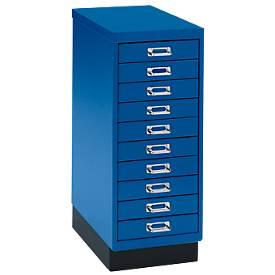 Armoire à tiroirs DIN A4, avec 10 tiroirs, haut. 675 mm