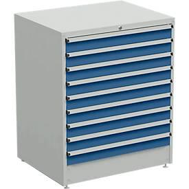 Armoire à tiroirs, largeur 910 mm