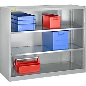 Armoire étagères, avec 2 étagères, largeur 1345 mm