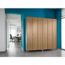 $armoire-vestaire serial 3- 300, portes decor, l. 900mm
