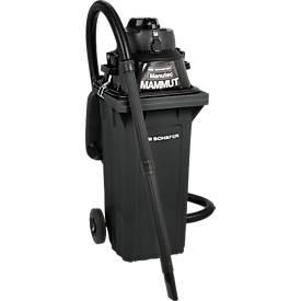 Aspirateur eau et poussière en lot complet, avec prise, avec grande poubelle 120 litres