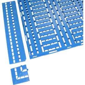 Image of Auffahrkante 600 mm, blau
