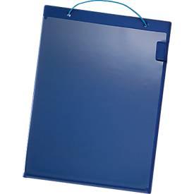 Image of Auftragstaschen, Klettverschluss, DIN A4, blau