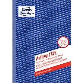 Avery Zweckform Auftragsformulare Nr. 1725