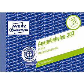Avery Zweckform Ausgabebelege Nr. 303