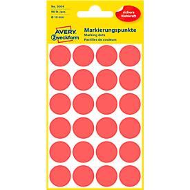 AVERY Zweckform Markierungspunkte 3004, rot