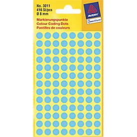 AVERY Zweckform Markierungspunkte, 8 mm, 416 Punkte