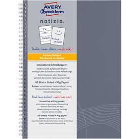 AVERY ZWECKFORM Notizbuch Notizio 7010/7011/7012/7013, 80 Blatt