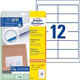 AVERY Zweckform Universal-Etiketten, 70 x 42,3 mm