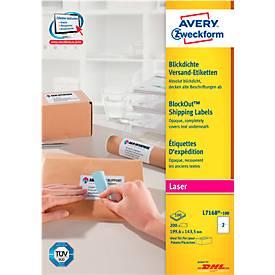 Avery Zweckform Versand-Etiketten, permanent haftend