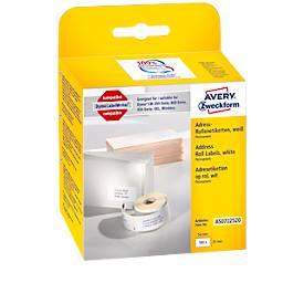 AVERY® Zweckform Adress-Etiketten Nr. AS0722520, permanent