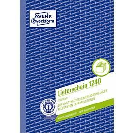 AVERY® Zweckform Lieferschein Nr. 1240