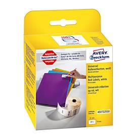 AVERY® Zweckform Universal-Etiketten Nr. AS0722550, wiederlösbar