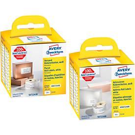 AVERY® Zweckform Vesand-Etiketten + Adress-Etiketten, SET