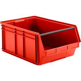 Bac à bec gerbable LF 743, plastique, 74 litres