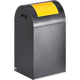 Bac à déchets (non) recyclables anti-incendie 40R