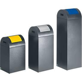 Bac à déchets (non) recyclables anti-incendie 55R