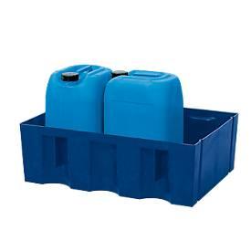 Bac de sol/palette pour conteneur de 60 l ou petits conditionnements