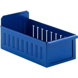 Bac tiroir métal. Prof. 350, 400 et 500 mm
