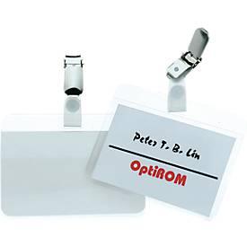Badges à plastifier, sans appareil, Durable