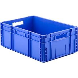 Bakken in Euro formaat MF 6220, zonder deksel, 41,6 liter, blauw