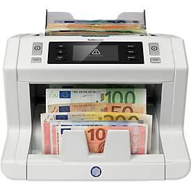 Bankbiljetteller en verificateur Safescan 2665-S, telt bij topsnelheid.
