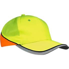 Basecap Neon Reflex, reflektierendes IQseen™ Material, Sichtbarkeit bis 160 m, EN 471, unisex, neon gelb