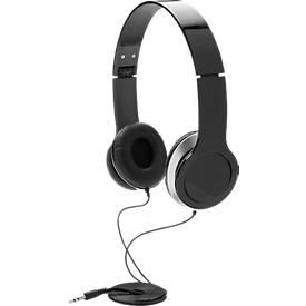 Basic Kopfhörer, mit Kabel, faltbar, isoliert Außengeräusche
