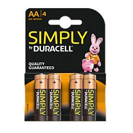 Batterien DURACELL Simply