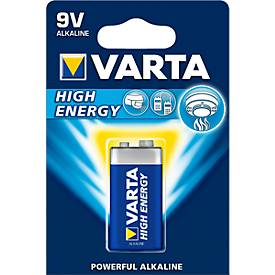Batterien VARTA HIGH ENERGY