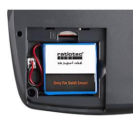 Batterij voor factuur validatie ratiotec® Soldi Smart & Soldi Pro, tot 8 uur lang
