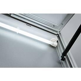 Beleuchtung als Zubehör für Schaukästen, Tiefe 120 mm