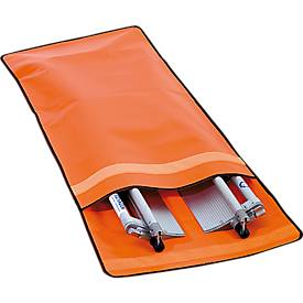 Beschermhoes voor schepbrancard, 1270 x 550 mm, gemaakt van hoogwaardig polyesterweefsel.