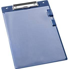 Beschermhoezen/klemborden formaat A4, blauw 10 stuks