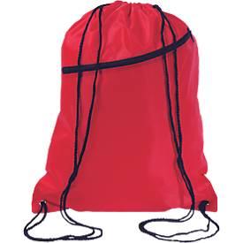 Beutel Big Shoop, aus 190 T Polyester, mit Tunnelzug und Fronttasche