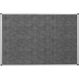 Bi-Office Wandtafel, lärmschützend, Aluminiumrahmen, 900x600