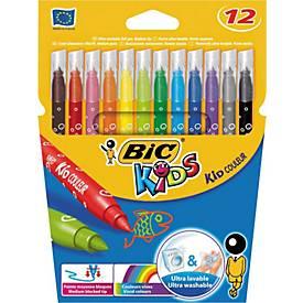 BIC Fasermaler Kids Kid Couleur