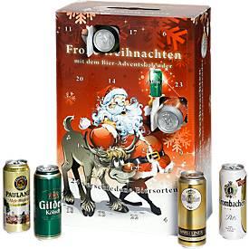 Bier-Adventskalender Santa