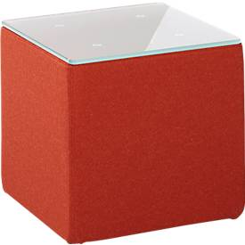 Bijzettafel Wienea, rood