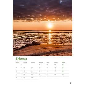 Bildkalender Deutschlands Küsten, deutsches Kalendarium, 235 x 335 mm